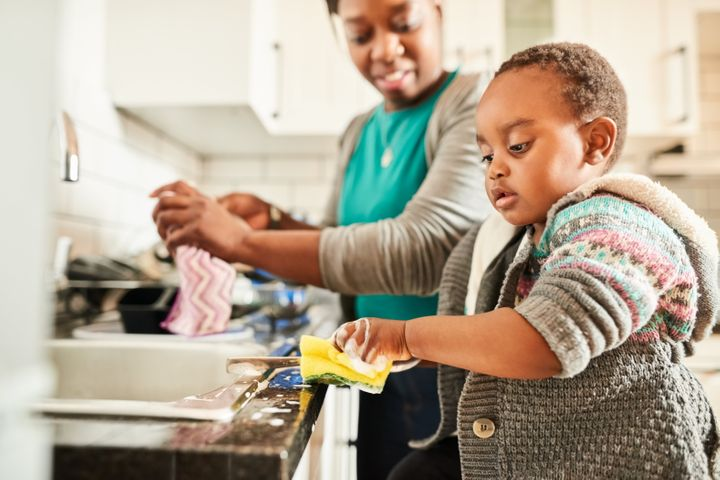 Giving children chores is a powerful way of teaching them responsibility.