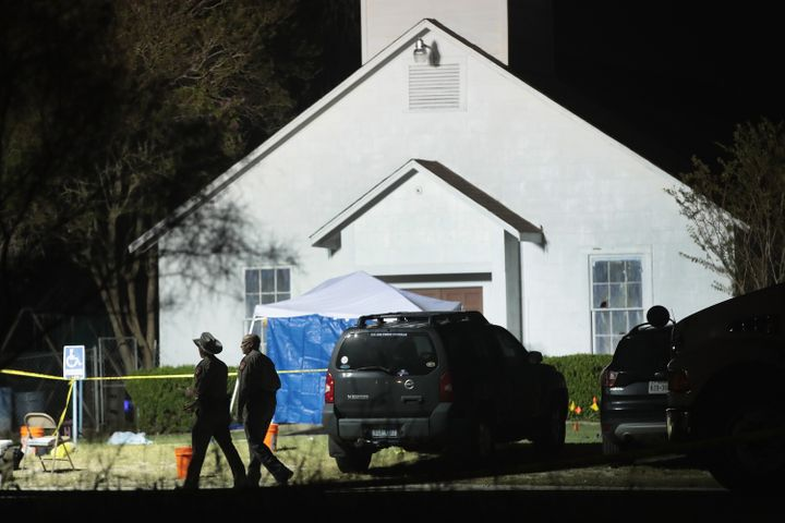 More than two dozen people were killed in the shooting. Kelley, who had threatened to carry out violence prior to the attack,