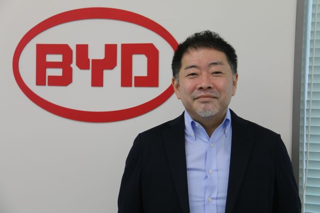 BYDの花田晋作取締役副社長