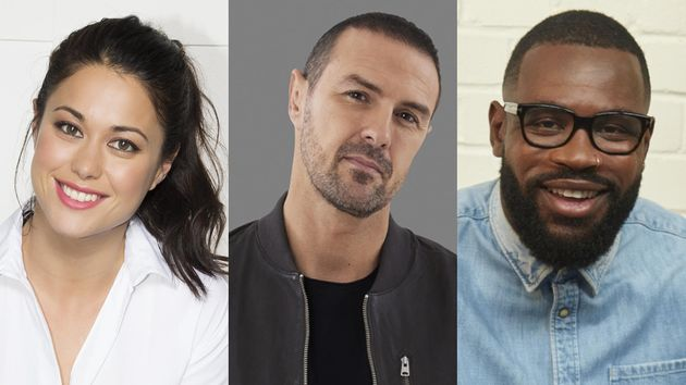 Sam Quek, Paddy McGuinness and Ugo Monye are the new faces ofA Question Of