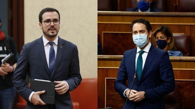 Alberto Garzón y Teodoro García