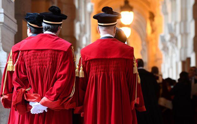 Inaugurazione dell'anno giudiziario in Cassazione, Roma, 31 gennaio 2020. ANSA / ETTORE