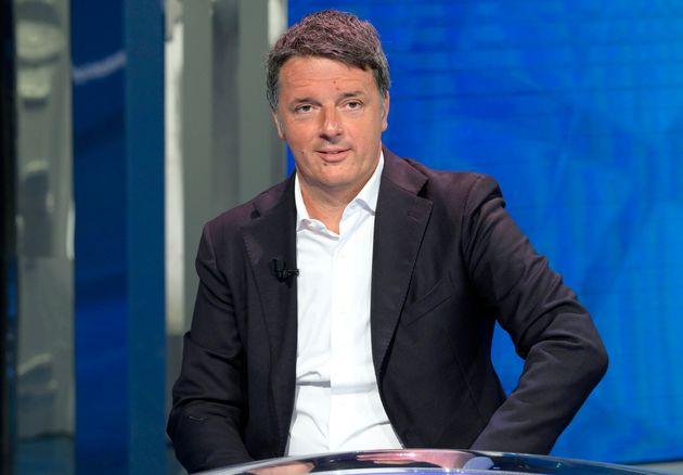 Il leader di Italia Viva, Matteo Renzi ANSA/CLAUDIO