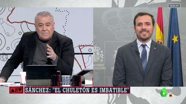 Ferreras entrevista a Garzón en 'Al Rojo