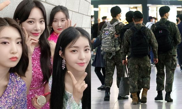 The Brave Girls, who succeeded in going backwards with a military unit performance, repay the favor.