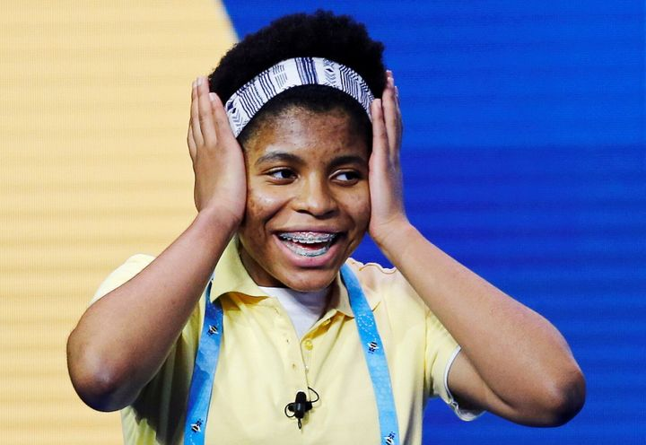 Zaila Avant-garde, 14, from New Orleans, Louisiana, won the 2021 Scripps National Spelling Bee Finals on Thursday.