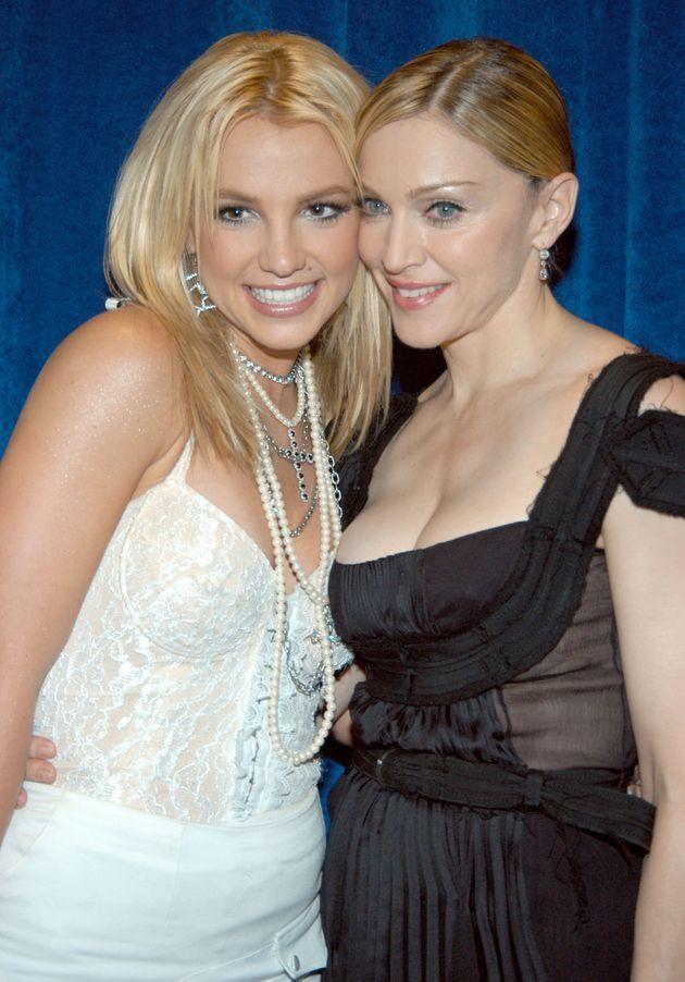 Britney Spears y Madonna