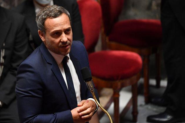 Adrien Taquet, secrétaire d'État à l'enfance et aux familles, en septembre 2020 à l'Assemblée