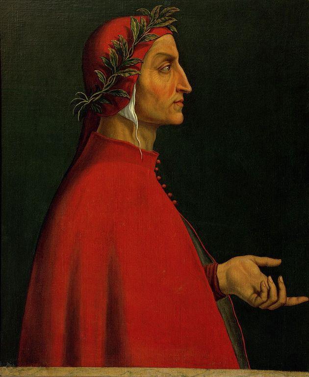 ITALY - JANUARY 01: Dante Alighieri, Italian poet (1265-1321) who wrote the