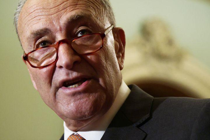 Senate Majority Leader Sen. Chuck Schumer (D-N.Y.) hopes to pass both the bipartisan infrastructure framework that President