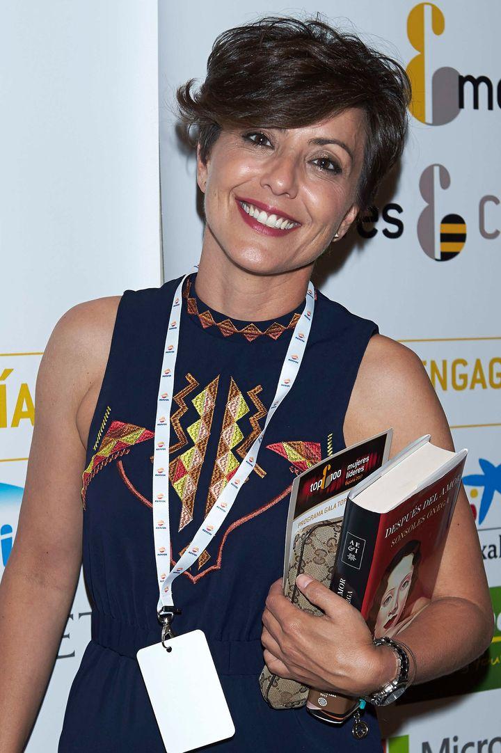 Sonsoles Ónega en la gala 'TOP 100 Mujeres', en 2017.