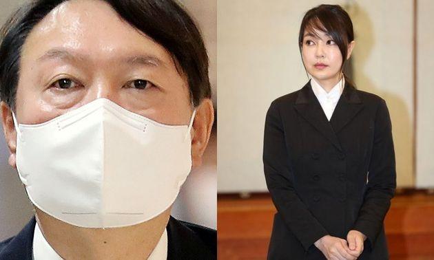 윤석열 전 검찰총장과 아내