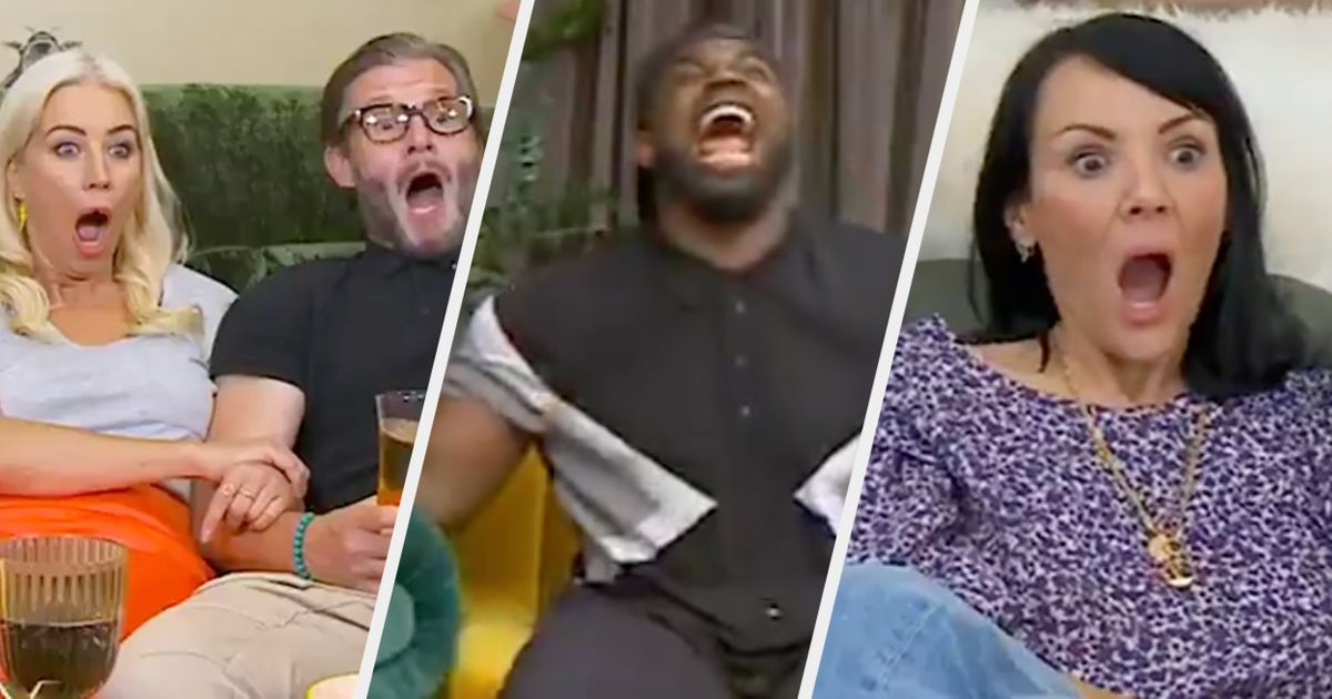 The Celebrity Goggleboxers' Reactions To That Sex/Life Shower Scene Were Absolutely Priceless