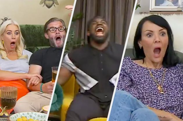 The Celebrity Goggleboxers watched *that* Sex/Life