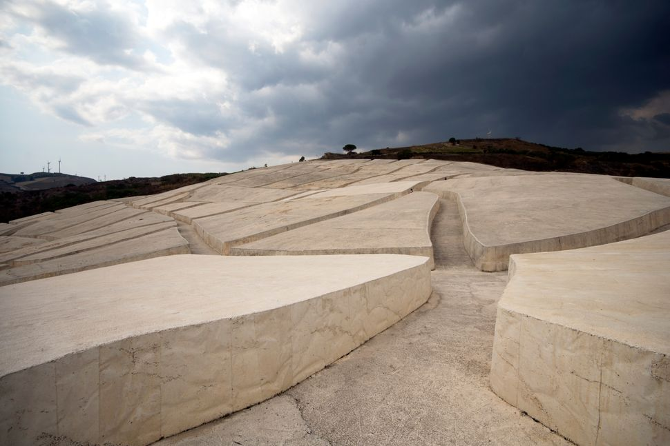 The Burri cretto or Gibellina cretto is the name with which the Grande Cretto is known, a land art work by Alberto Burri between 1984 and 1989 in the place where the old town of Gibellina stood, completely destroyed in 1968 by the earthquake del Belice.