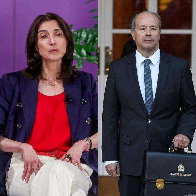 Pilar Llop y Juan Carlos