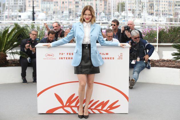 Positive au Covid, Léa Seydoux pourrait manquer Cannes (Photo d'illustration: Léa Seydoux...