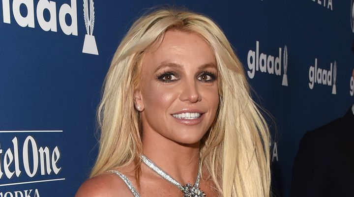 Britney Spears at the 29th Annual GLAAD Media Awards in 2018.