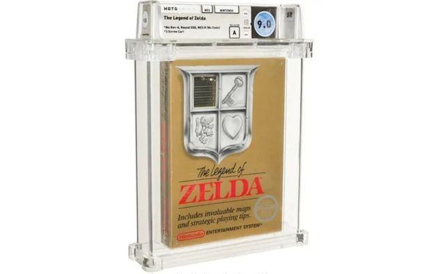 NES版『ゼルダの伝説』の未開封品、過去最高を超える落札額。入手可能な中で最初期のレア版