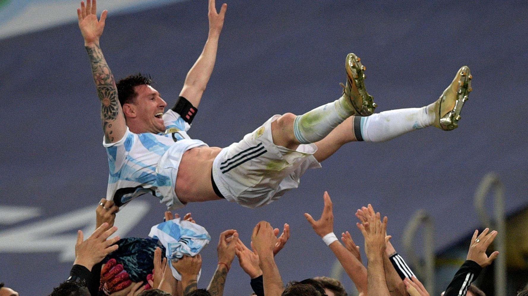 Copa America: Messi gagne son premier titre avec l'Argentine à 34 ans
