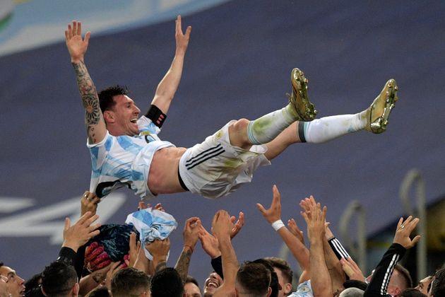 Lionel Messi à la Copa America le 10 juillet