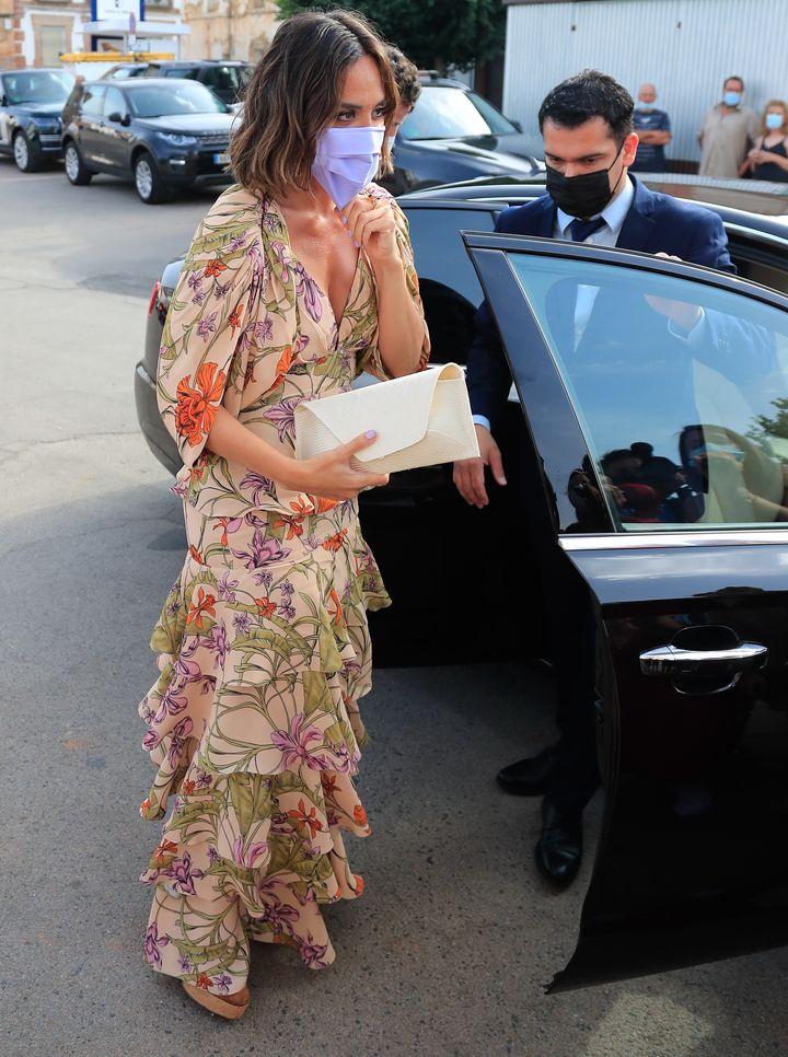 Tamara Falcó e Íñigo Onieva en la boda de Felipe Cortina y Amelia Millán.