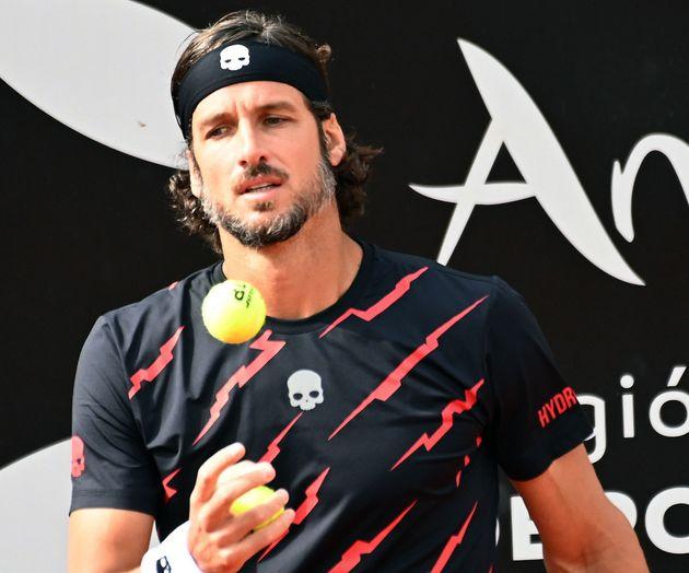 Feliciano Lopez in Marbella 08 April