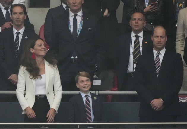La réaction du prince George au but anglais pendant la finale n'est pas passée inaperçue...