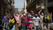 Thousands Of Cubans Protest Shortages, Rising Prices In Major Demonstration