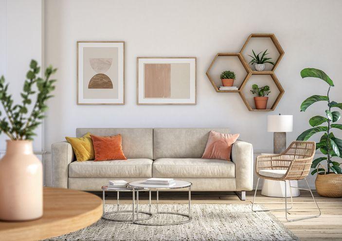 지난해 코로나19로 집에 있는 시간이 늘어나고, 집 구매율이 상승하면서 집 꾸미기에 대한 관심 또한