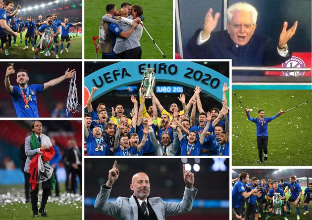 Il calcio sarà anche tornato a casa, come cantano da mesi a questa parte gli inglesi per la finale dell'europeo a Wembley: ma la vittoria no, quella se l'è ripresa in mano stasera un Paese che nel pallone esprime una capacità di fare gruppo, squadra, popolo che sarebbe auspicabile in tanti altri settori della vita, ma già averla nello sport apre il cuore alla speranza. Quel Paese è l'Italia che aggiunge il successo di stasera, un 4-3 arrivato dopo una gara a inseguimento e dopo i calci di rigore nei quali Donnarumma si è superato, a un albo d'oro formidabile, da superpotenza del calcio: quattro mondiali vinti, due titoli continentali (il primo 53 anni fa), un titolo olimpico. ANSA
