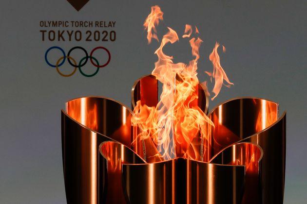 東京五輪の聖火