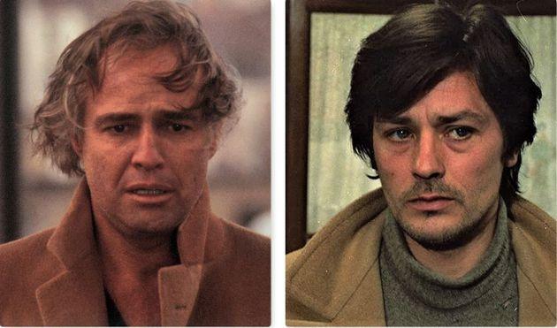 Marlon Brando e Alain
