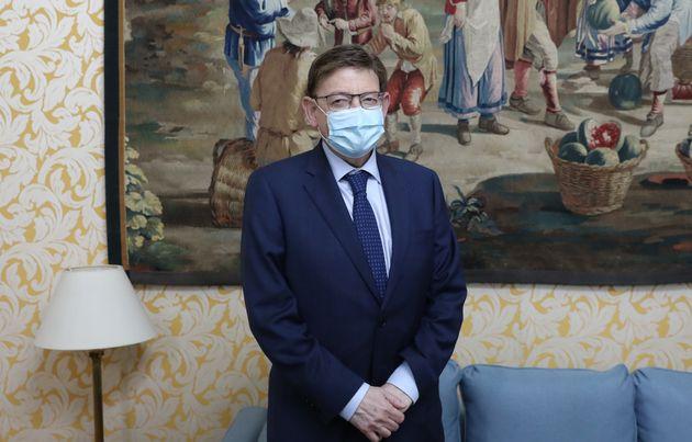 El presidente de la Generalitat Valenciana, Ximo Puig, en una foto de