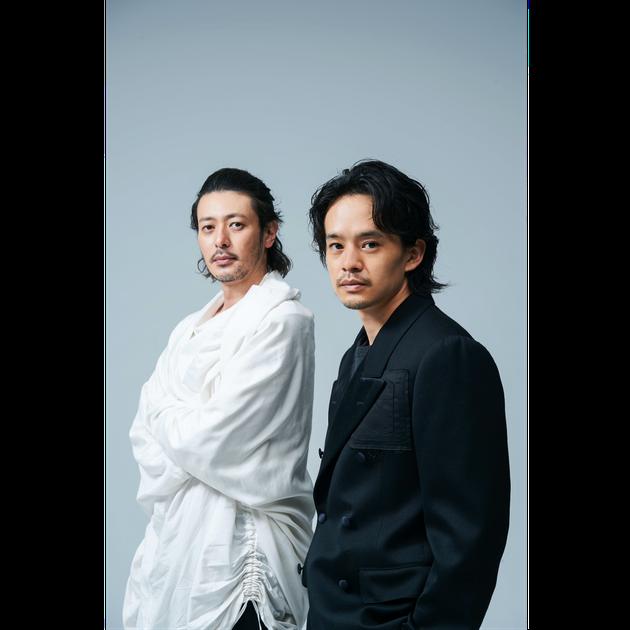 映画『アジアの天使』で共演したオダギリジョーさん(左)と池松壮亮さん(右)
