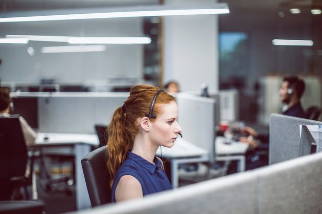Customer Service Agents Working In