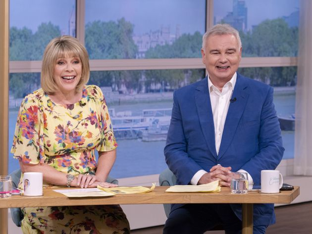 Ruth Langsford and Eamonn Holmes on This Morning on