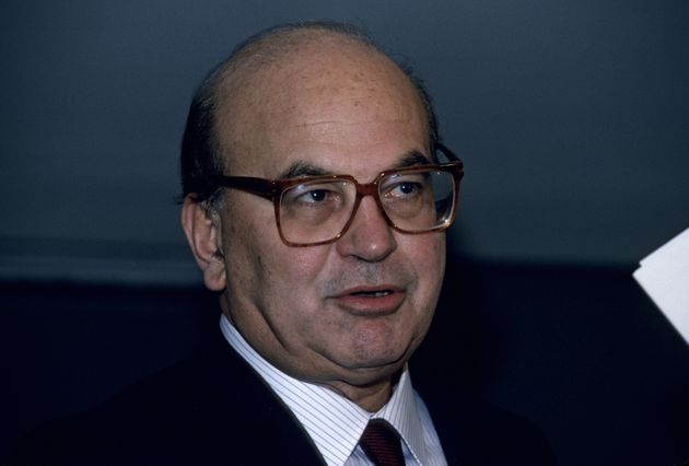 NEW YORK, NY - SEPTEMBER 5: Italian Prime Minister Bettino Craxi during an interview on September 5, 1988 in New York, New York. (Photo by Santi Visalli/Getty Images)