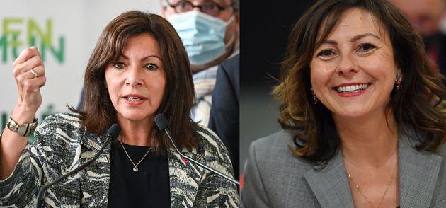 Anne Hidalgo, maire de Paris et Carole Delga, présidente de la région