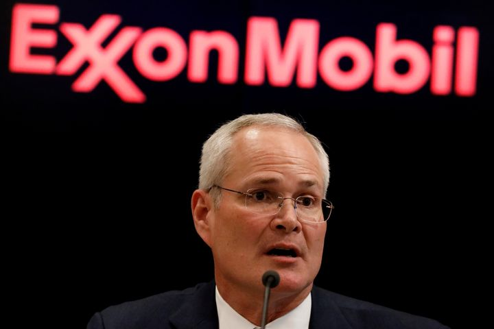 Darren Woods, the chairman and CEO of Exxon Mobil Corp., apologized for and disavowed remarks made by lobbyist Keith McCoy sh