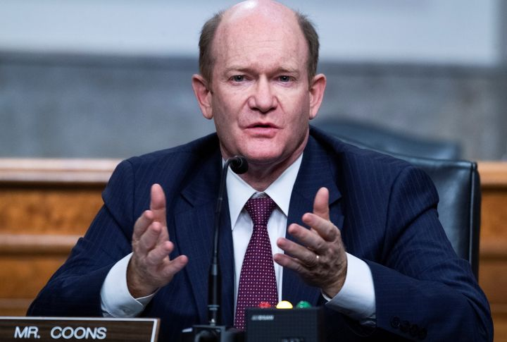 Sen. Chris Coons (D-Del.) is a close ally of Biden, hailing from the president's home state and holding the same Senate seat