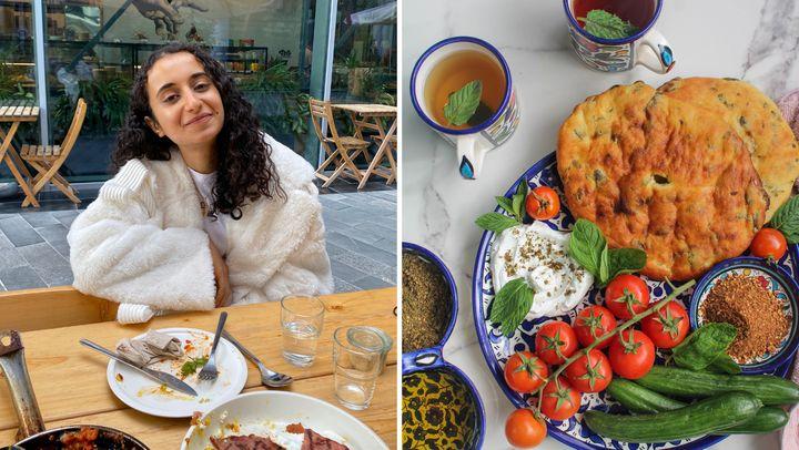Diala Shaheen and herfamily's cherished recipe for za'atar bread.