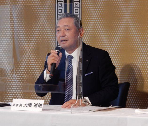 日本アパレル・ファッション産業協会の大澤道雄理事長