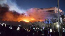 Fire Erupts In Coronavirus Hospital Ward In Southern Iraq, Killing At Least 58