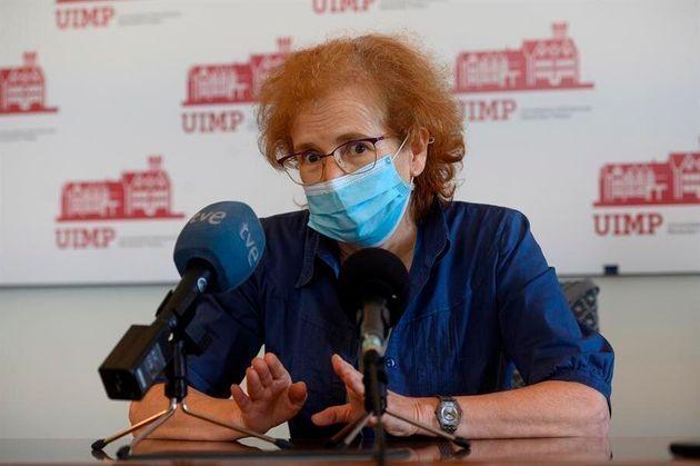 The virologist Margarita del