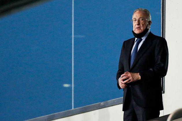 El presidente del Real Madrid, Florentino Pérez, en una foto de