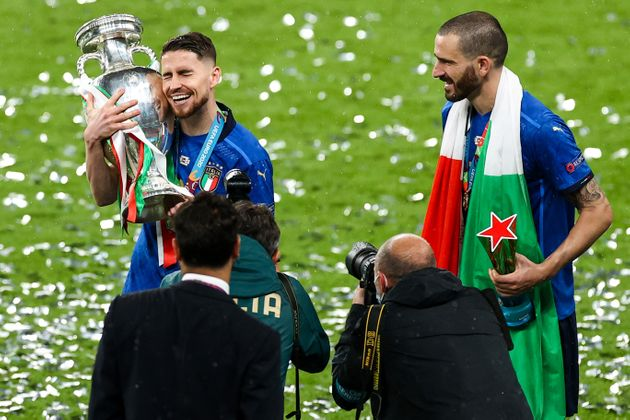 Cinque italiani e tre inglesi nella squadra ideale di Euro