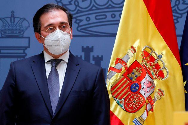 El ministro de Asuntos Exteriores, Unión Europea y Cooperación, José Manuel Albares,...