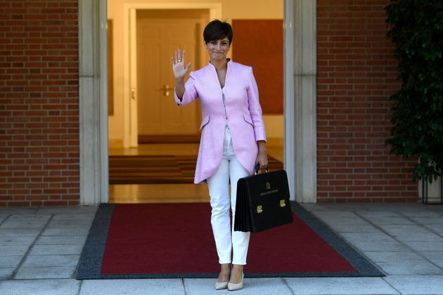 Isabel Rodríguez, a su llegada al Consejo de