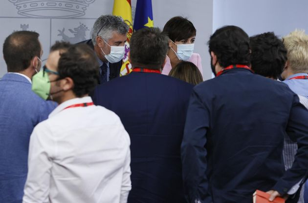 Isabel Rodríguez, Miguel Ángel Oliver y los